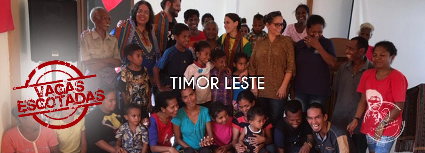 Ásia / Timor Leste 2020 – Projeto Treinalíderes
