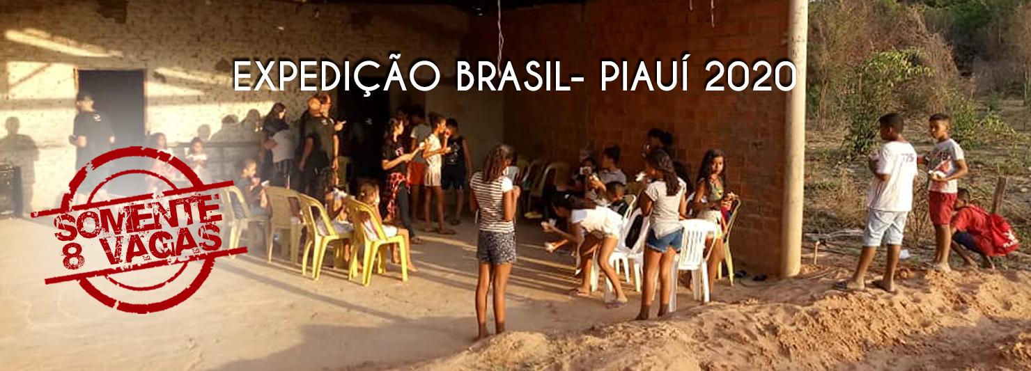 Expedição Brasil-Piauí / 2020