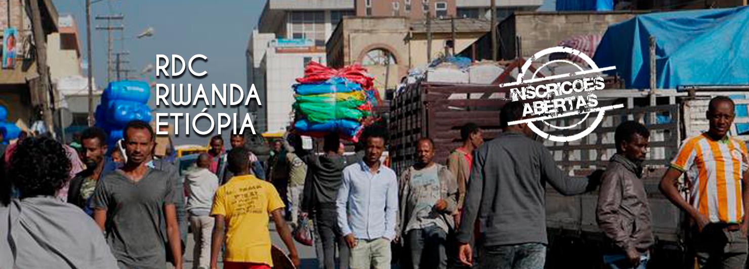 Viagem Missionária a RDC, Rwanda e Etiópia / África de 15 a 25 Julho 2021